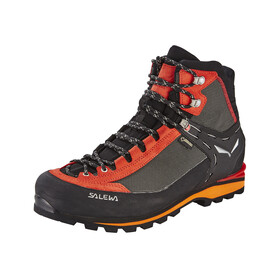 Salewa Crow GTX Alpine Shoes Men black/papavero